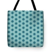 Abstract Turquoise Pattern 3 Tote Bag
