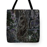 Abstract Twisted Tree Tote Bag