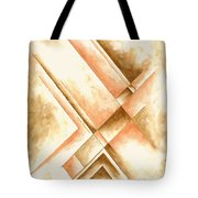 Abstract Unique Original Painting Contemporary Art Champagne Dreams I By Madart Tote Bag