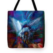 Abstract Visual Tote Bag