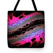 Abstract Visuals - Hot Pink Hemispheres Tote Bag