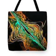 Abstract Visuals - A Tear In The Fabric Of Time Tote Bag