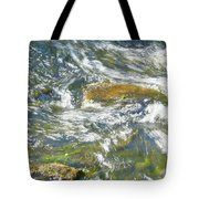 Abstract Water Art Vii Tote Bag