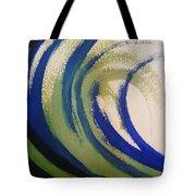 Abstract Waves Tote Bag