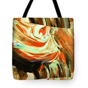 Abstract Whirls Within A Window Tote Bag