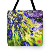 Abstract Wildflower 5 Tote Bag