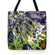 Abstract Wildflower 6 Tote Bag