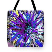 Abstract Wildflower 9 Tote Bag