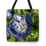 Abstract Wildflower Tote Bag