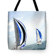 Abstract Wind And Seas Tote Bag