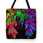 Abstract Wisteria Tote Bag