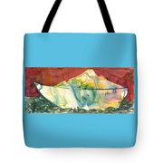 Abstract With A Boat Tote Bag
