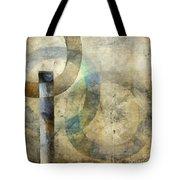 Abstract With Circles Tote Bag