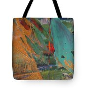 Abstract With Gold - Close Up 7 Tote Bag