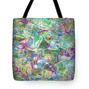 ract with Shapes and Squiggles Tote Bag
