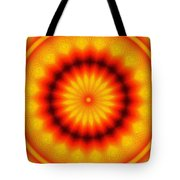 Abstract Xanthous And Black.  Tote Bag