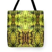 Abstract Yellow Trees Tote Bag