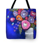 Abstracted Flowers - 2 Tote Bag