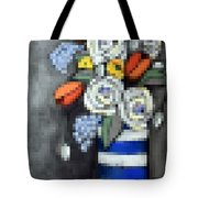 Abstracted Flowers - 3 Tote Bag