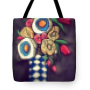 Abstracted Flowers- 5 Tote Bag