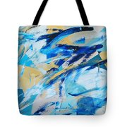 Abstracted Geometry Tote Bag