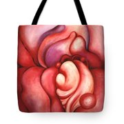 Abstracted Orchid Tote Bag