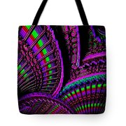 Abstracticalia Fantalia - In Purple - Catus 1 No. 1 L B Tote Bag