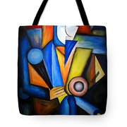 Abstraction 1720 Tote Bag