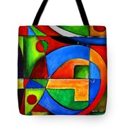 Abstraction 1723 Tote Bag