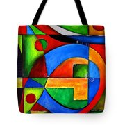 Abstraction 1724 Tote Bag