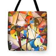 Abstraction 1768 Tote Bag