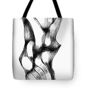 Abstraction 1807 Tote Bag