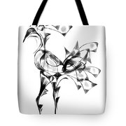 Abstraction 1808 Tote Bag