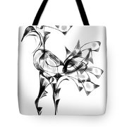 Abstraction 1810 Tote Bag