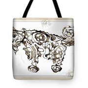 Abstraction 1950 Tote Bag