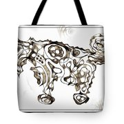 Abstraction 1951 Tote Bag