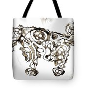 Abstraction 1952 Tote Bag