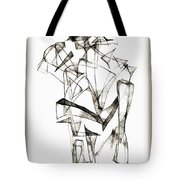 Abstraction 1955 Tote Bag