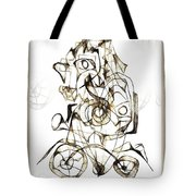 Abstraction 1959 Tote Bag