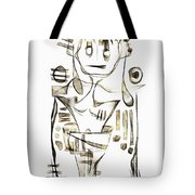 Abstraction 2043 Tote Bag