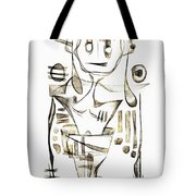 Abstraction 2045 Tote Bag