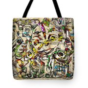 Abstraction 2049 Tote Bag