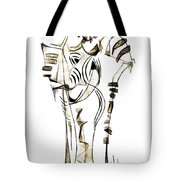 Abstraction 2152 Tote Bag