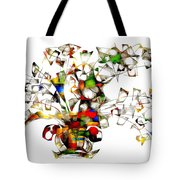 Abstraction 2175 Tote Bag