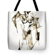 Abstraction 2176 Tote Bag