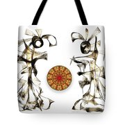 Abstraction 2184 Tote Bag