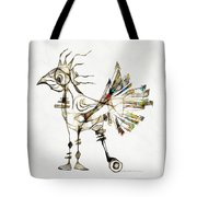 Abstraction 2185 Tote Bag