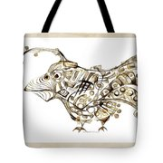 Abstraction 2249 Tote Bag