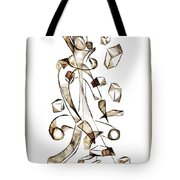 Abstraction 2257 Tote Bag