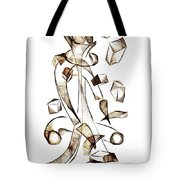 Abstraction 2258 Tote Bag